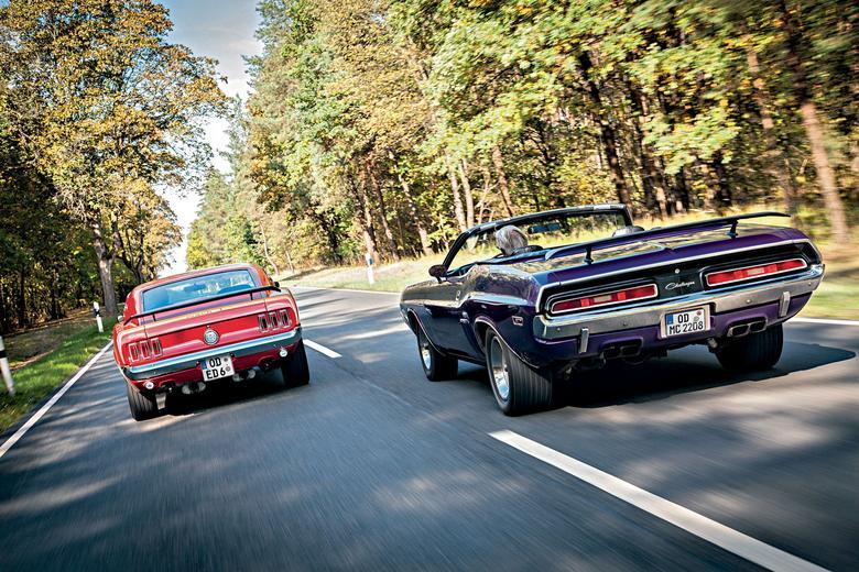 Pod względem wielkości spoilera wygrywa Dodge.