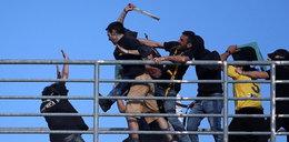 Piekło na stadionie w Grecji. Przerażające zdjęcia