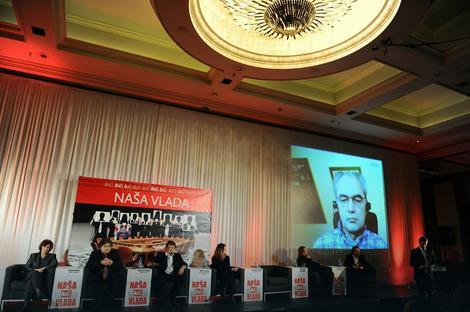 Dejan Ilić, ministar privrede, uključio se na skup video-linkom