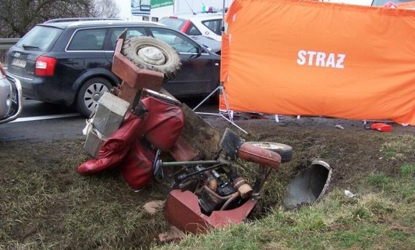 Bracia zginęli w traktorku własnej konstrukcji