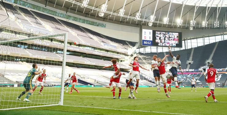 Detalj sa utakmice Totenhem - Arsenal