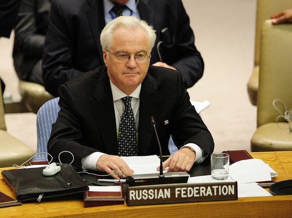 Uložiće veto: Vitalij Čurkin, ambasador Ruske federacije u SB UN