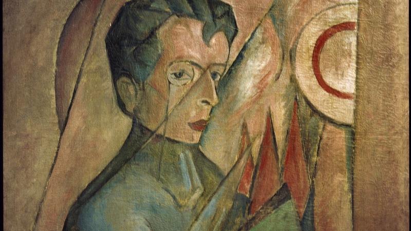 Bruno Jasieński na portrecie Tytusa Czyżewskiego