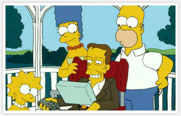Stephen Hawking w odcinku serialu Simpsonowie