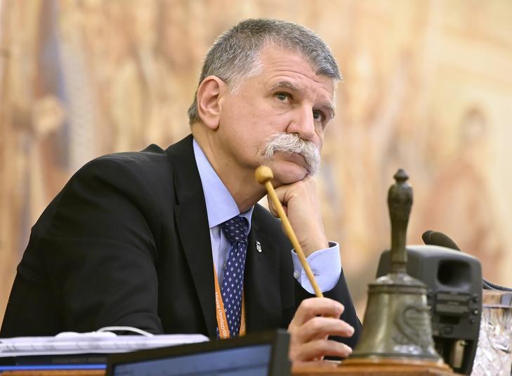 Kövér László házelnök rendszeresen bünteti súlyos milliókra az ellenzéki parlamenti képviselőket /Fotó: MTIKovács Tamás