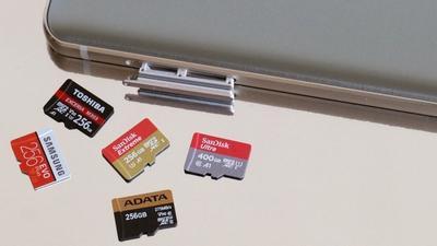 Vergleichstest: fünf microSDXC-Karten ab 200 GByte