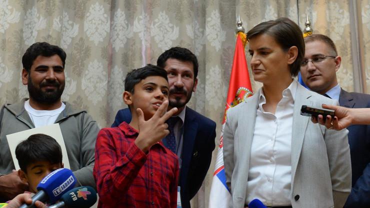 Ana Brnabić, Farhad Nuri, Nebojša Stefanović, državljanstvo, avganistanski dečak