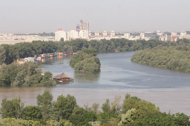 Mesto na kojem se vekovima sastaju vremešni ljubavnici, Dunav i Sava