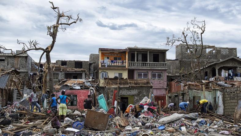 Zniszczenia na Haiti