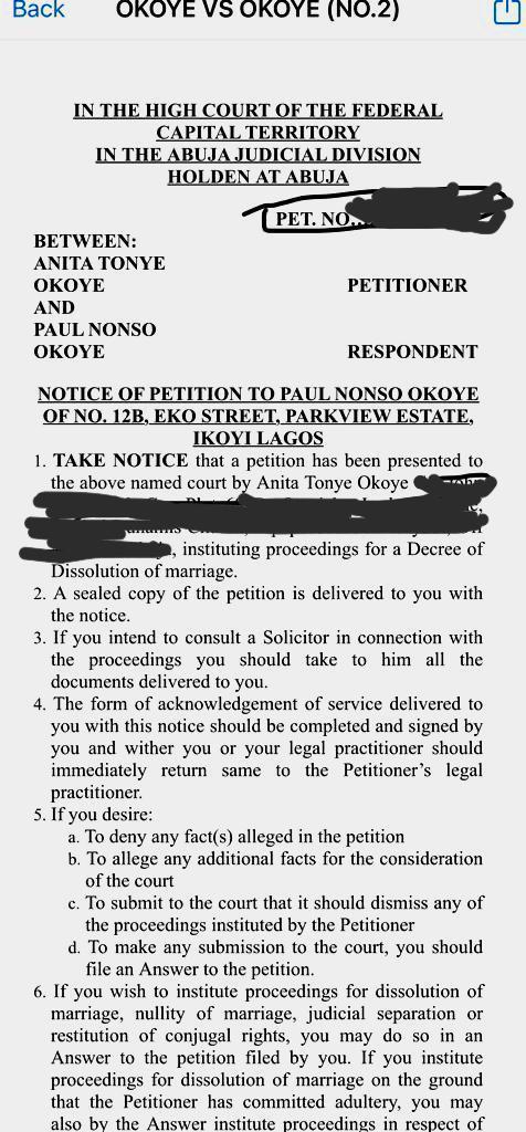 Anita Okoye asks court to dissolve marriage with singer Paul Okoye | Pulse  Nigeria