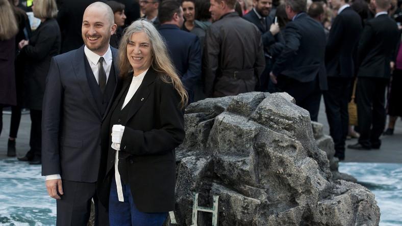 """Darren Aronofsky z Patti Smith na premierze """"Noego"""" w Londynie"""