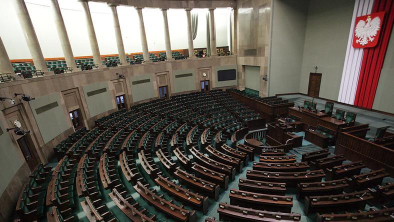 Sejm RP, fot. Maciej Stankiewicz/Onet