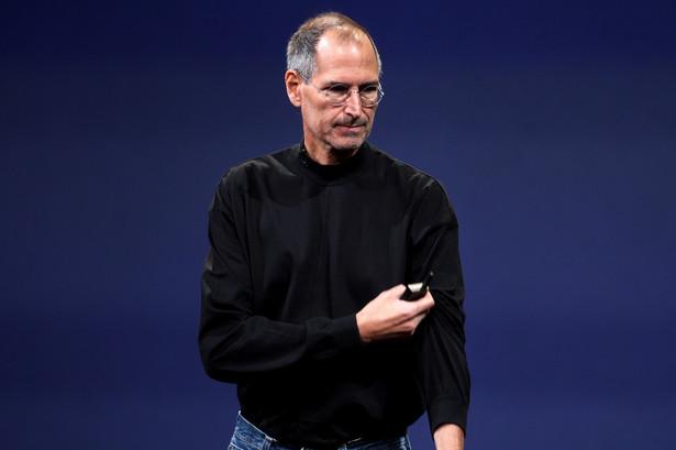 Steve Jobs, współzalożyciel firmy Apple