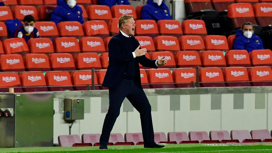 Trener FC Barcelony, Ronald Koeman