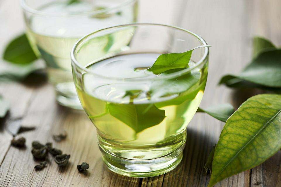 4. Zielona herbata - hamuje stany zapalne
