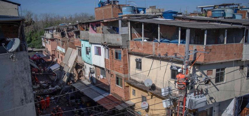 Brazylia. Zawalił się czteropiętrowy budynek. Zginęły dwie osoby, w tym niemowlę