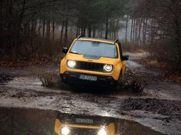 Jeep Renegade Trailhawk – z terenowymi aspiracjami