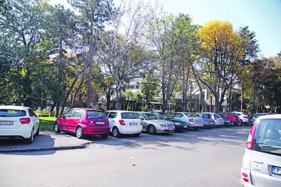 Parking na kom je došlo do rvanja biznismena