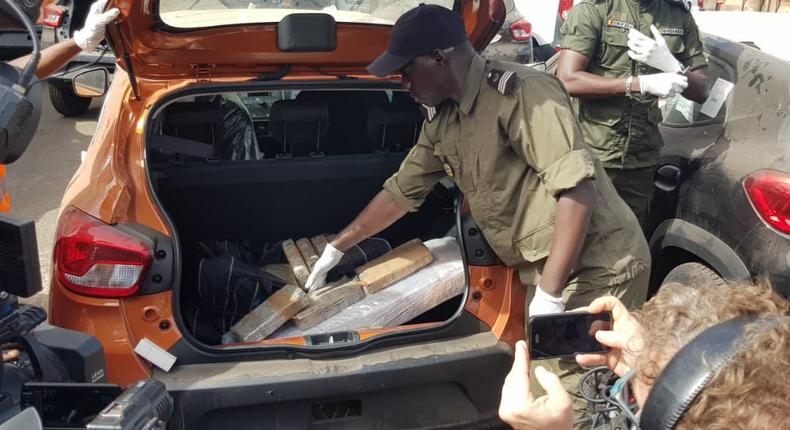 Saisie de cocaïne au Port de Dakar