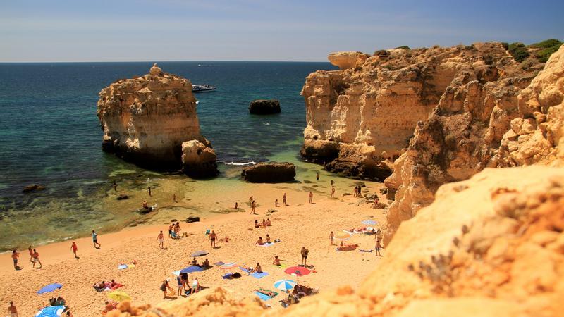 Portugalia, plaża San Rafael