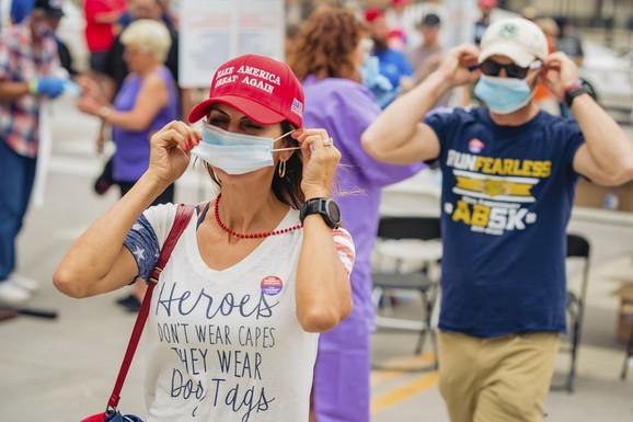 Trampove pristalice u Tulsi, Oklahoma