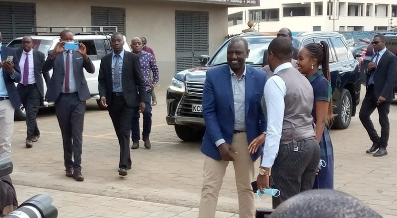 Inspector General takes action on DP Ruto's bodyguards