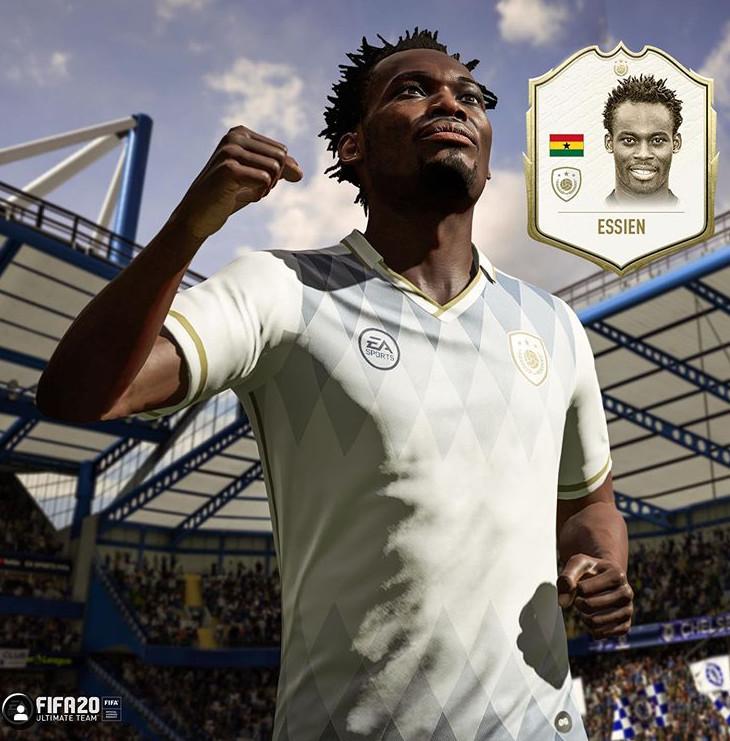 Michael Essien FIFA 20 Icon