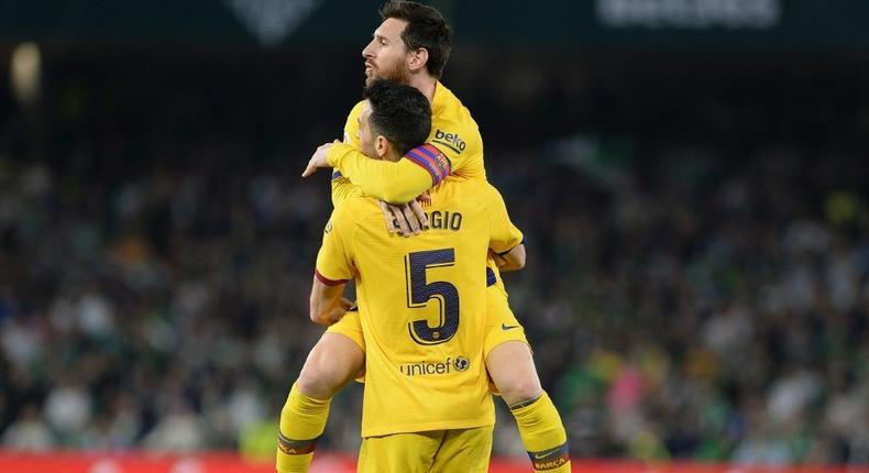 Sergio Busquets has said he was shocked by Lionel Messi's departure from Barcelona Creator: CRISTINA QUICLER