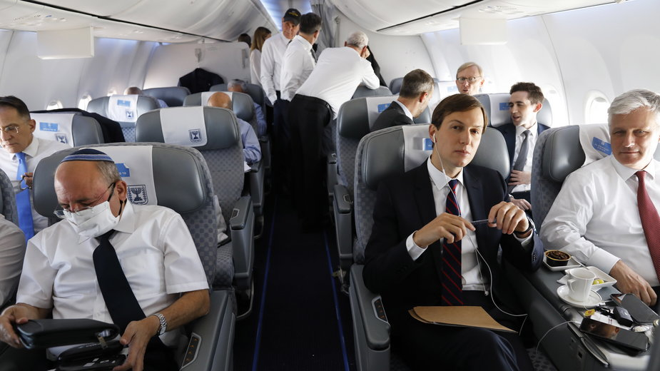 Pierwszy lot z Izraela do ZEA