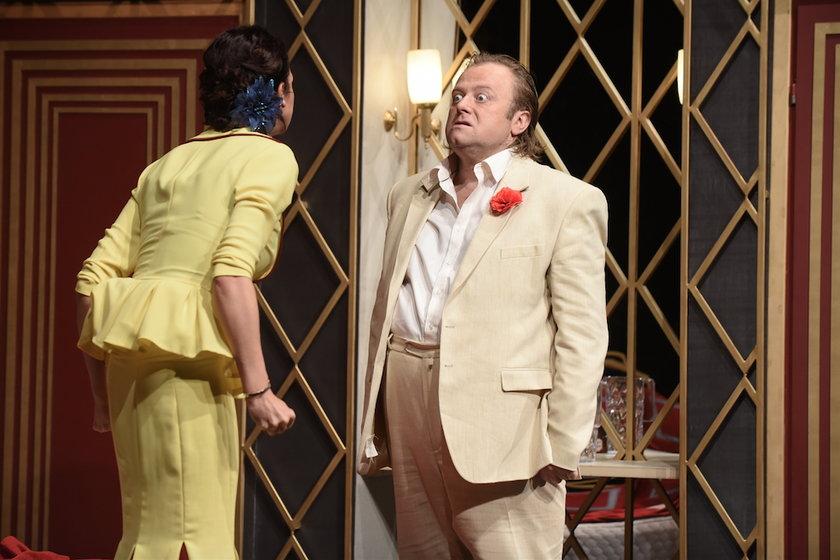 Olaf Lubaszenko jako tenor