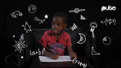Inside the mind of Nii Omanye Otu, the 5-year-old Ghanaian genius