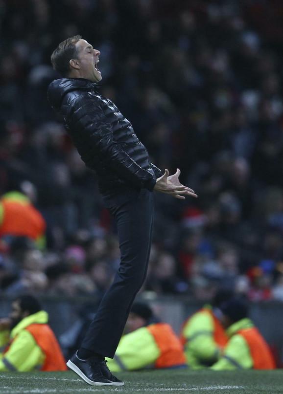 Trener Parižana Tomas Tuhel nije bio zadovoljan igrom izabranika u prvom poluvremenu