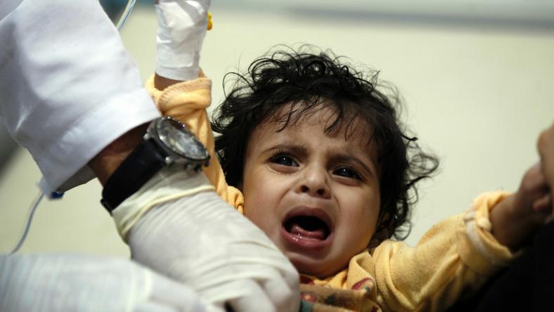 W Jemenie co 10 minut umiera jedno dziecko poniżej piątego roku życia