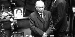 Jarosław Kaczyński odbiera kondolencje w Sejmie