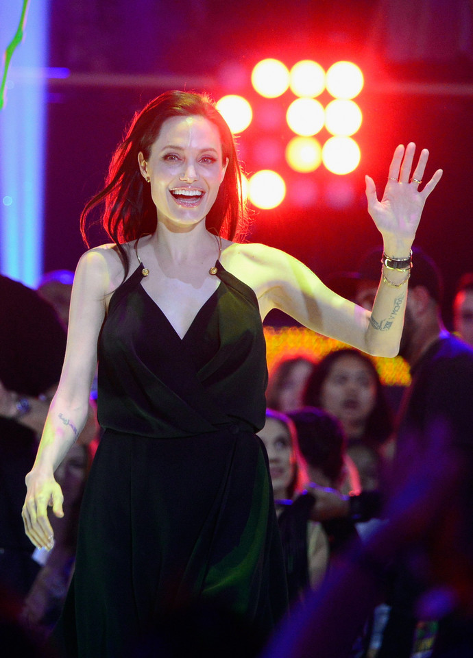 Angelina Jolie na Kids' Choice Awards