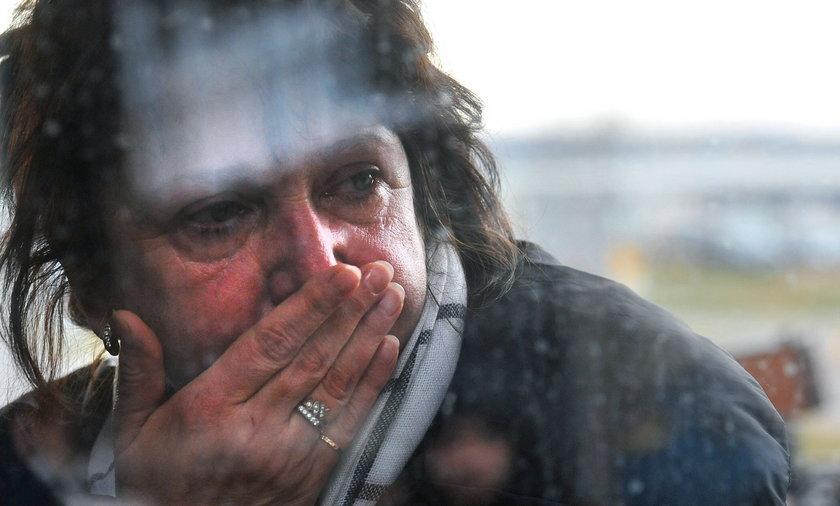 Rozpacz rodzin po katastrofie Airbusa