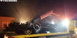 Uderzyli w gazowe przyłącze i dom. Spłonęli na miejscu. Ewakuacja w Płocku