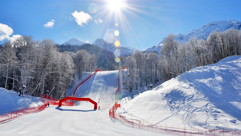 Trasy narciarskie w Soczi