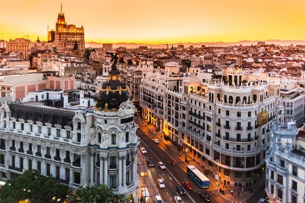 Gran Via, Madryt