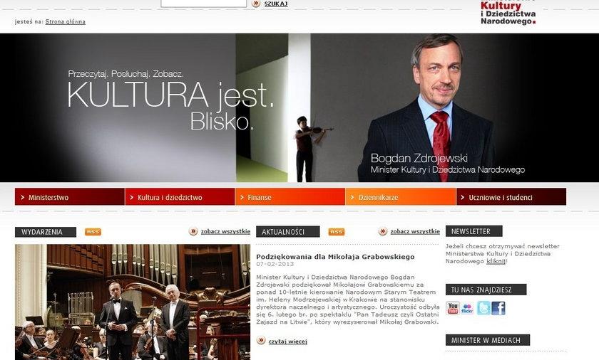 strona ministerstwa