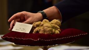 Aukcja słynnych trufli z Alby przyniosła 175 tysięcy euro