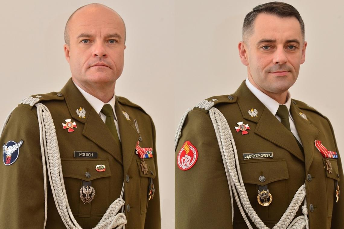 Komendant główny ŻW generał Połuch i jego zastępca gen. Jędrychowski