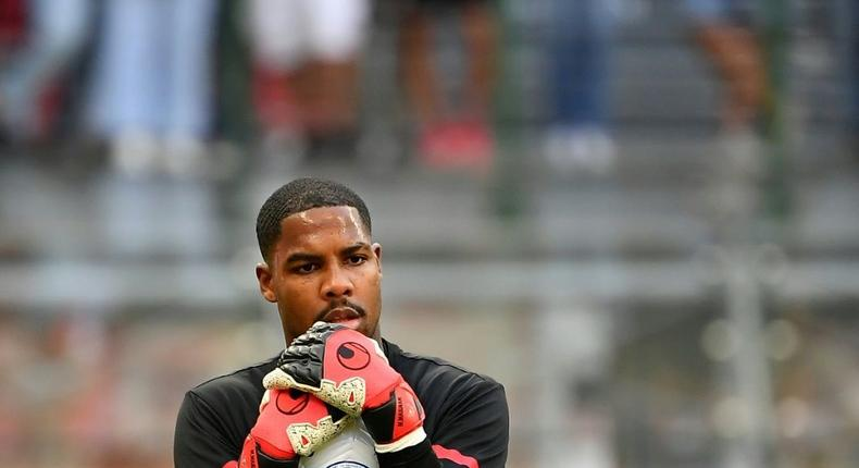 AC Milan's French goalkeeper Mike Maignan has called for  unity in the 'battle against a societal issue bigger than football' Creator: Isabella BONOTTO