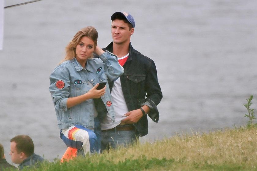 Mikołaj Roznerski i Marcelina Zawadzka