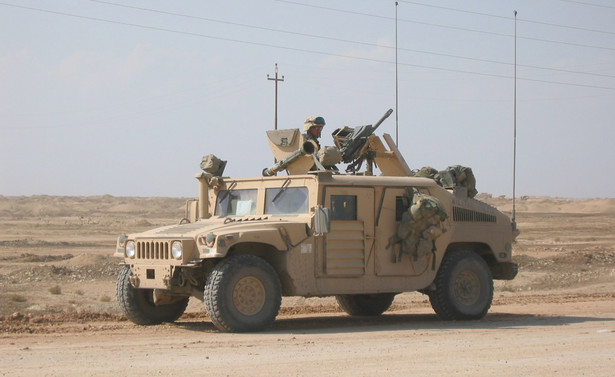 amerykański Humvee