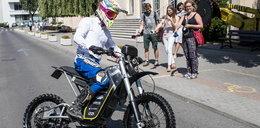 Sukces studentów z AGH. Zbudowali motocykl na...baterie
