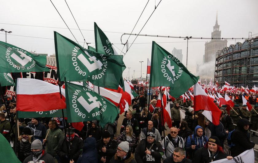 Niesamowity koniec Marszu Niepodległości. Zobacz, co zrobili