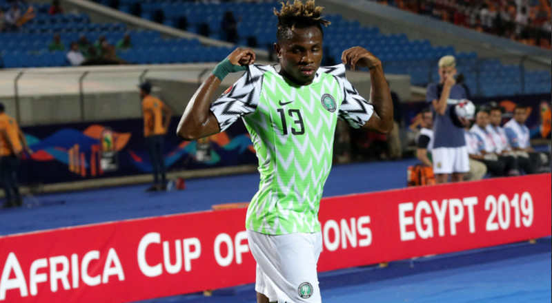 Super Eagles forward Samuel Chukwueze says he wants to play in the Premier League