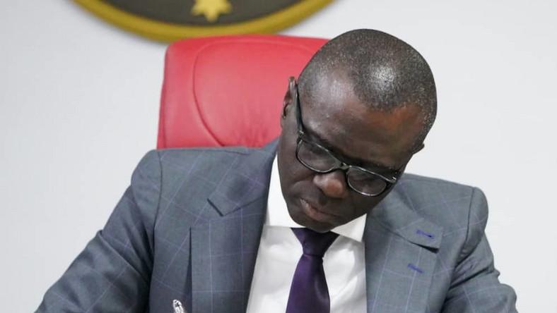 Gov. Babajide Sanwo-Olu of Lagos State (Twitter @jidesanwoolu)