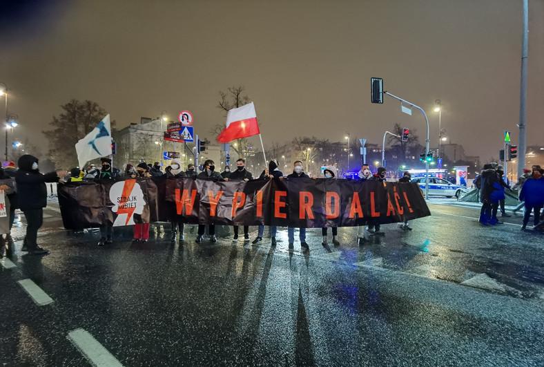 Strajk Kobiet w Warszawie, 28 stycznia 2021 r.